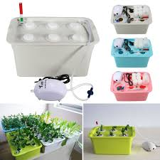 aliexpress com buy 6 holes plant site hydroponic system indoor