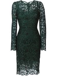 dolce u0026 gabbana floral lace dress women u0027s size 44 green rayon