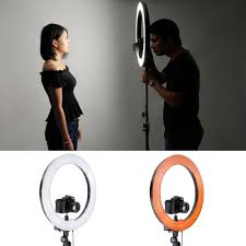 ring light for video camera neewer camera photo video lighting kit 18 inches 75w 5500k
