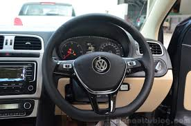 volkswagen polo 2015 interior 2014 vw polo facelift first drive steering indian autos blog