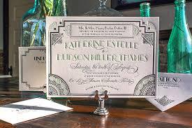 great gatsby wedding invitations blueklip com