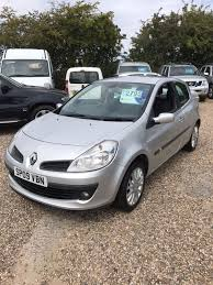 used renault clio dynamique manual cars for sale motors co uk