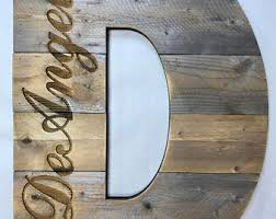 Barn Wood Letters Large Wood Letters Etsy