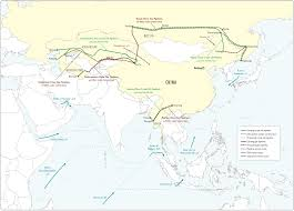Central And Southwest Asia Map by
