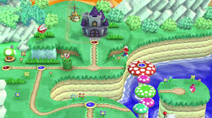 Super Mario World Map by New Super Mario Bros U Review New Tricks Polygon