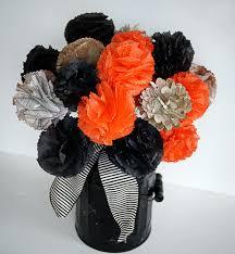 make a halloween bouquet