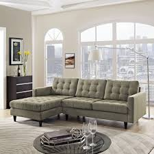 Left Sectional Sofa Empress Left Arm Sectional Sofa Free Shipping Today Overstock