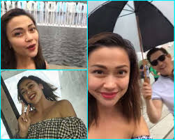 new haircut if jodi sta jodi sta maria enjoys a day in toronto