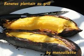 cuisiner la banane plantain bananes plantain au grill par gourmandise