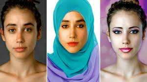 22 countries photoshopped one woman to be