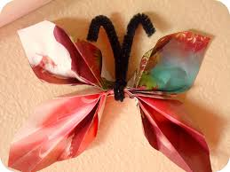 homemade serenity why don u0027t you make magazine butterflies
