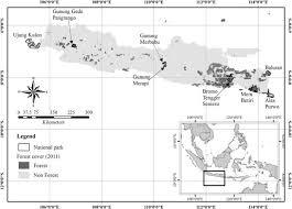 tutorial arcgis pdf indonesia alien plant invasions of protected areas in java indonesia