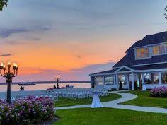 cape cod wedding venues traditional chair hold on the villa in east