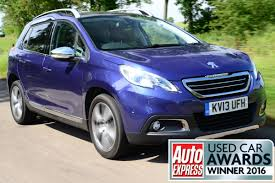 cheap used peugeot best used small 4x4s and suvs best used cars to buy now u2013 our