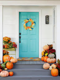 Good Door Setting Our Favorite Fall Decorating Ideas Hgtv