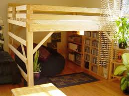 Beds With Bookshelves by Edgy Loft Beds With Desk Design Ideas