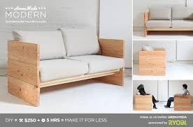 homemade modern ep66 box sofa