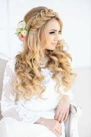 Frisuren Mittellange Haar Hochzeit by Frisur Für Hochzeit Elegante Brautfrisur Mit Locken
