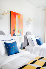 Colorful Bedroom Design by Tye Street Bedroom Update With Fab Thou Swell