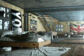 chambre style industriel chambre industrielle chambre style industriel en 36 id es de chic
