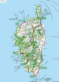 Map Of Portofino Italy by Map Of Corsica U2014 Luxury Yacht Charter U0026 Superyacht News