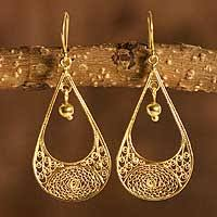gold jewelry from andes at novica
