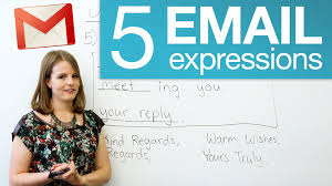 Business Email Writing Tutorial by 5 Useful Email Expressions Youtube