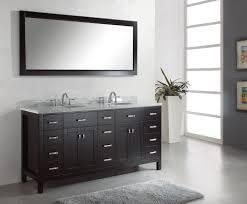Espresso Bathroom Mirrors Bathroom Large Bathroom Mirror And 72 Inch Vanity In 72 Bath
