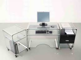 Glass Corner Computer Desks For Home Furniture Ultimate Corner Clear Glass Top For Computer Desk In