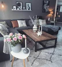 living room with gray couch luxury home design ideas