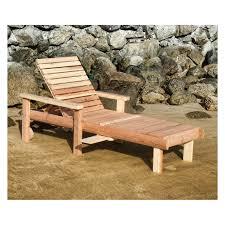 best redwood single sun chaise lounge hayneedle