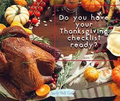 top 10 planning thanksgiving dinner checklist posts on