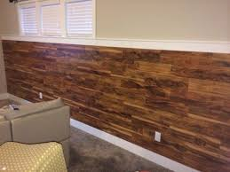 Laminate Flooring On Walls Wainscoting Laminate Flooring On Half Wall Rooms Tongue And Groove