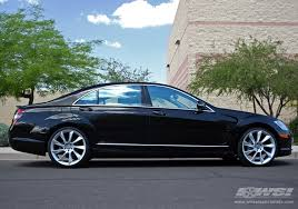 mercedes s class wheels 2007 mercedes s class with 21 lorinser rs8 in silver wheels