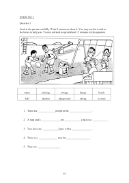 upsr english paper 2 section 1 worksheets for weaker pupils