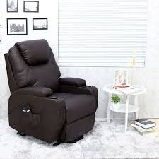 Ebay Cream Sofa Cinemo Elecrtic Rise Recliner Leather Masseage Heat Armchair Sofa