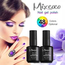 mixcoco uv color change nail polish gel free sample uv gel nail