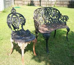 How To Paint Furniture Black by Tools Are For Women Too How To Paint Cast Iron Furniture