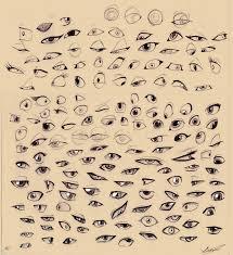 sketches cartoon eyes by autlaw on deviantart