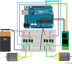 fritzing project u2013 arduino android bluetooth panzer