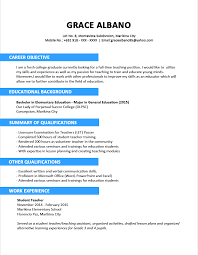 sle resume format download for freshers mechanical engineering resume sle for freshers archivecareer rare