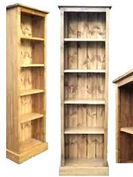 5 ft wide bookcase oak bookcase with center divider 5 ft wide