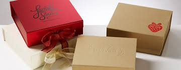 printed gift boxes debossing foil printing logos onto our stock gift boxes
