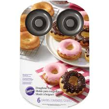 Halloween Cake Tins by 6 Cavity Donut Pan Wilton