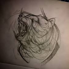 más de 25 ideas únicas sobre tatuajes oso grizzly en pinterest