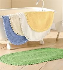 Cotton Reversible Bathroom Rug 100 Cotton Reversible Chenille Bath Mat Bathroom
