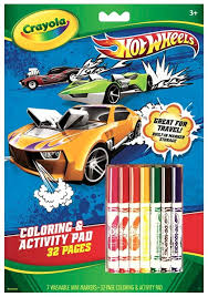 hotwheels coloring pages amazon com crayola wheels coloring and activity book with