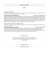 computer networking resume network technician sample resume budget technician sample resume