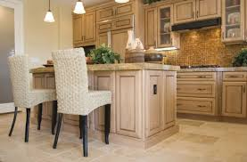 Whitewashed Kitchen Cabinets Magnificent White Washed Oak Cabinets With Additional How To