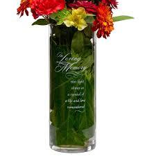 In Loving Memory Vase Memorial Ceremony Glass Cylinder Vase U2013 Candy Cake Weddings
